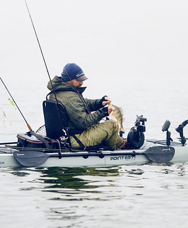 Каяки для охоты и рыбалки